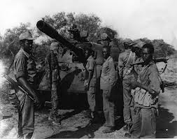 War machinery captured and used by SPLA against Khartoum forces those days.
